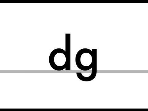 dg - Phonics - fudge, hedge, ledge