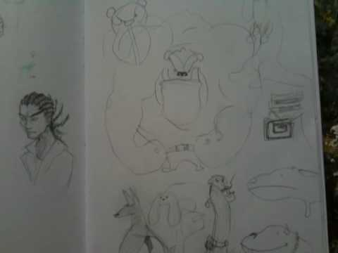 Pete's Sketchbook.mov