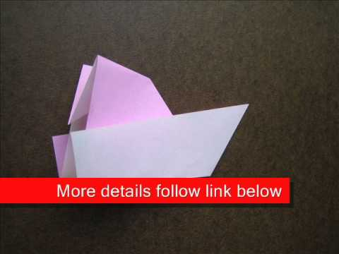 How to Fold Origami Yacht - OrigamiInstruction.com