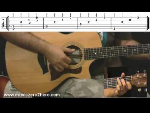 Guitar Instructions - Finger Picking Tutorial