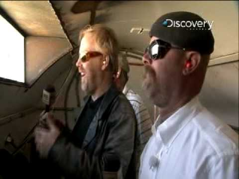 MythBusters - Rocket Sled Reaction