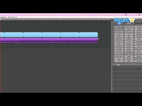 Learn GarageBand in 30 Days: Basic Editing Grab Tool