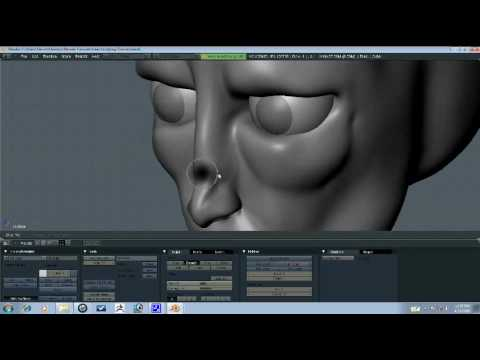 Blender Tutorial - Head Sculpting Part 4/9