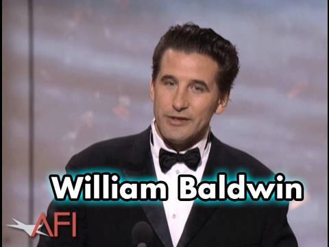 William Baldwin Salutes Robert De Niro