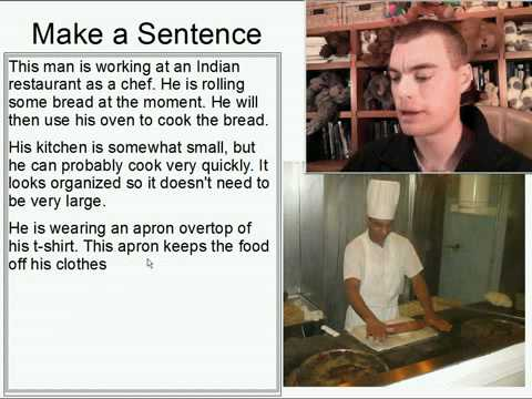 Learn English Make a Sentence and Pronunciation Lesson 132: Working at a Restaurant