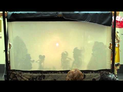 Shadow Theater Demonstration with Larry Reed - Part I