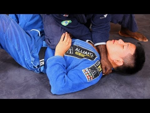 Choke from Knee on Stomach | Brazilian Jiu Jitsu