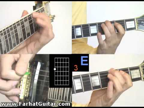 12 Bar Blues Guitar lesson example 4 www.farhatguitar.com