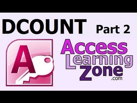 Microsoft Access 2007 Tutorial - Using DCOUNT Part 2 of 2 - Count Records and Determine Rank