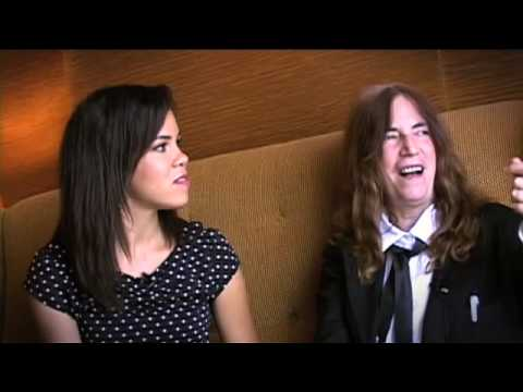 PBS at the TV Critics Press Tour | Patti Smith interview