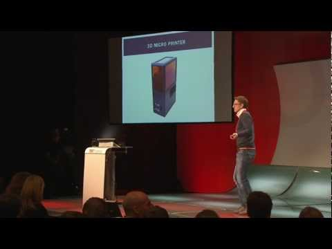 TEDxVienna - Klaus Stadlmann - The world's smallest 3D Printer