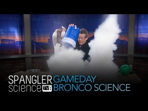 Game Day Bronco Science - Cool Science Experiment