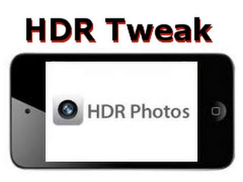 How to Enable HDR Photos on your iPod Touch 4g Camera App