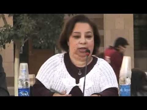 Heba Hagrass '82, '98 speaks about the upcoming parliamentary elections in Egypt