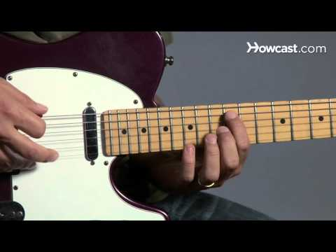 How to Play Guitar: Beginners / Pentatonic Scale: Pattern 2 Major Scale over Top