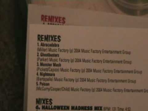 HALLOWEEN CD'S FROM MASTERMIX