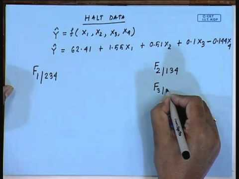 Mod-01  Lec-12 Lecture-12-Selecting the BEST Regression model (Contd...2)