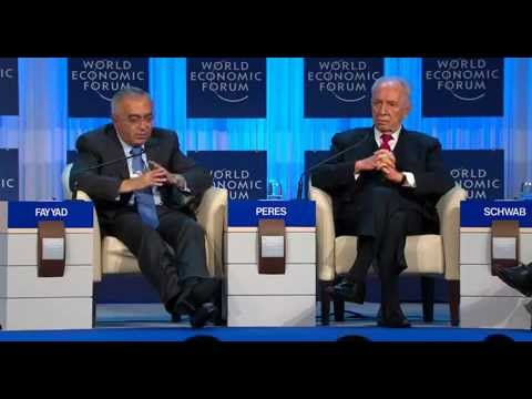 Davos 2012 - Salam Fayyad & Shimon Peres - Prospects for Peace in the New Middle East Context