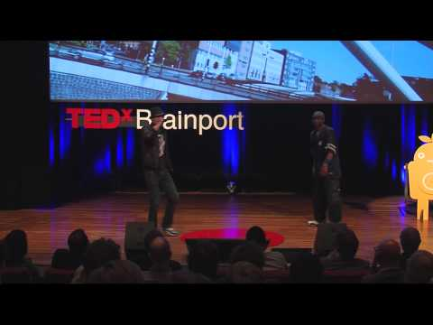 TEDxBrainport 2012 - 2Solo - Eindhoven Light City rap