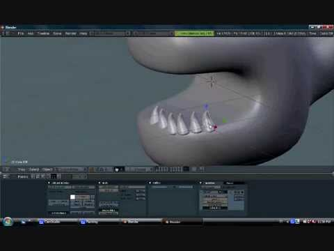 Blender Timelapse - Alan the Alien