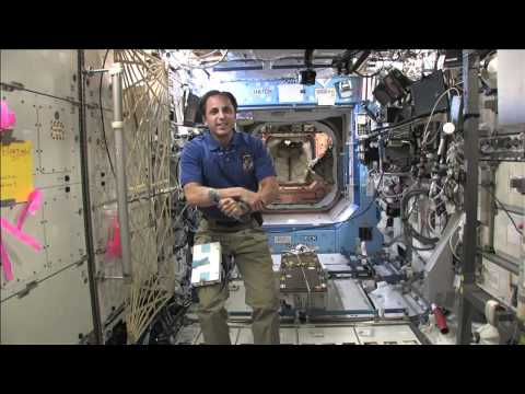 Virginia Students Speak with Space Station Resident