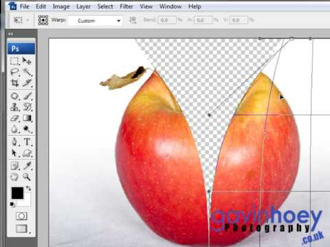 Unzip an apple in Photoshop (Part 1 of 2) - Week 26