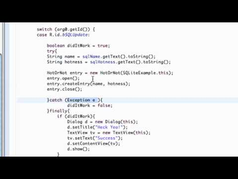 Android Application Development Tutorial - 118 - How to Create a Dialog