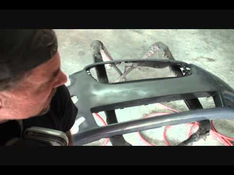 Automobile Collision Repair-How To Repair Your Plastic Bumper Cover. Part 3