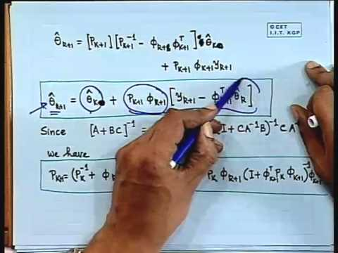 Lec-24 Linear Regression-Recursive Least Squares