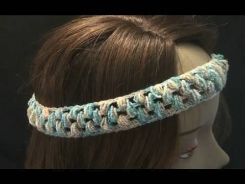 Art of Crochet by Teresa - Stretchy Crochet Headband - Puff Stitch