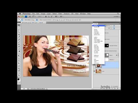 Photoshop: Introducing the Layers panel and Layers menu | lynda.com