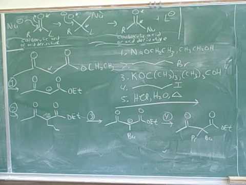 Claisen condensation. 1,3-dicarbonyls (11)