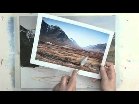 Acrylic Painting Lesson - Glencoe, Scotland