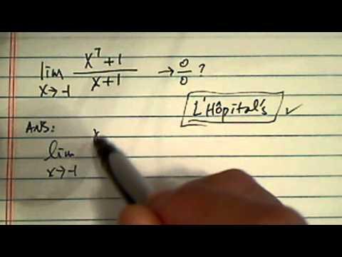 Calculus I...Evaluate the Limit...