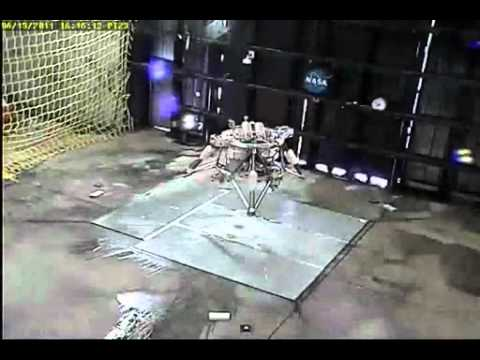 NASA's Robotic Lander Takes Flight