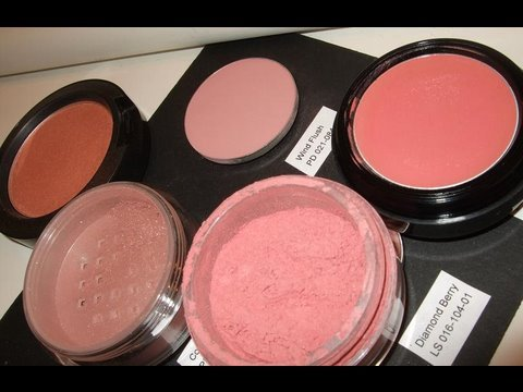 My Top 5 blush Favourites, review & swatches