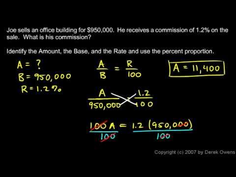 Prealgebra 7.3a - Solving Percent Applications