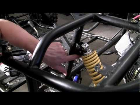 How to Build a Go Kart - 20 - Rear Struts (the easy way)