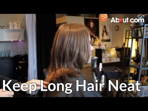 How to Keep Long Hair for Men Neat