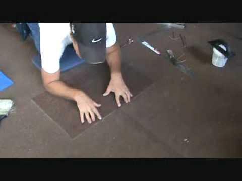 "Making a gluedown carpet repair: properly securing the ""edges"""
