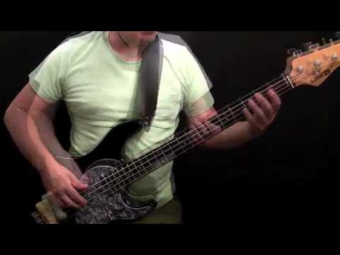 How To Play Bass Guitar To I Want You Back - Jackson 5 - Welton Felder - (Part 2)