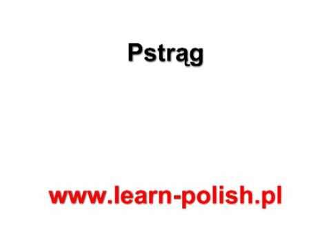Basic Survival Polish Lessons. Lesson 21. Polish Classes in Poland
