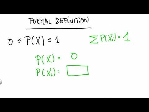 Formal Definition Of Probability 2 - CS373 Unit 1 - Udacity