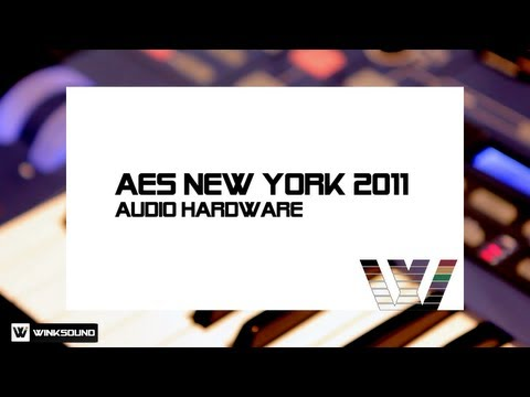Audio Hardware AES New York 2011 | WinkSound