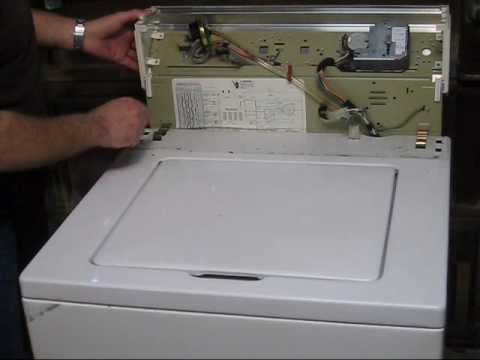 WHIRLPOOL WASHER REPAIR VIDEO 1
