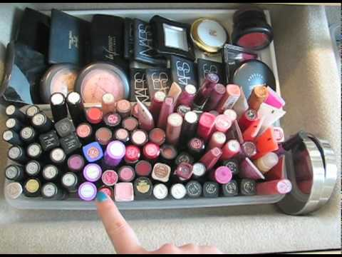 My Makeup/Nailpolish Collection+Storage Ideas