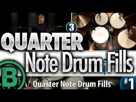 Quarter Note Drum Fills
