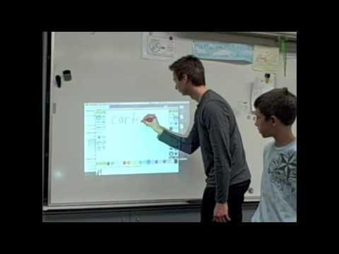 Educational Applications for the Wiimote Whiteboard