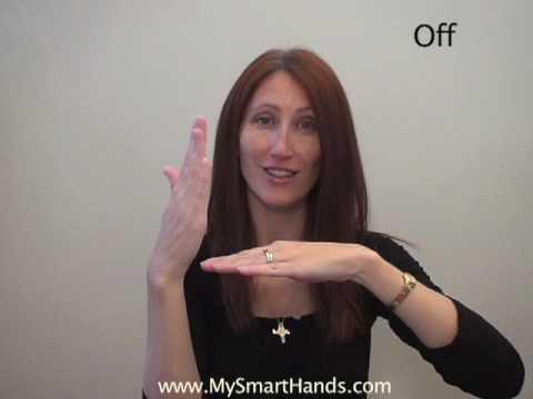 off - ASL sign for off