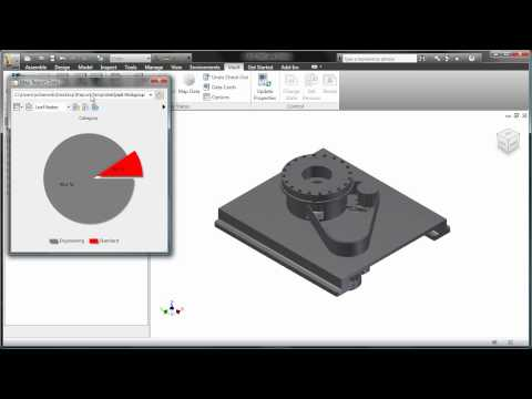 Step 3 — Applying Report Templates in Autodesk Inventor for Visual DM